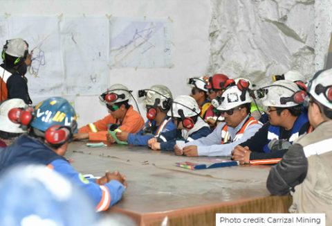 Labor: Photo Credit: Carrizal Mining